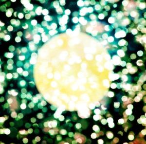 Moonlight plastic tree
